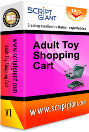 Adult Toy Shopping Cart