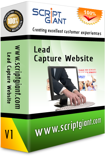 Lead Capture Website