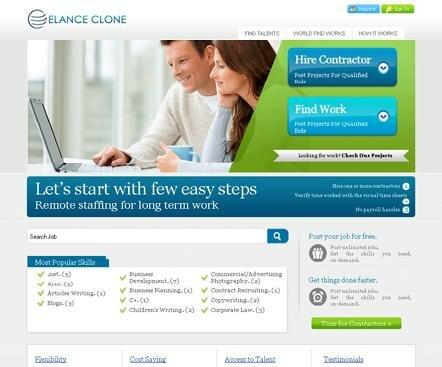 Elance clone