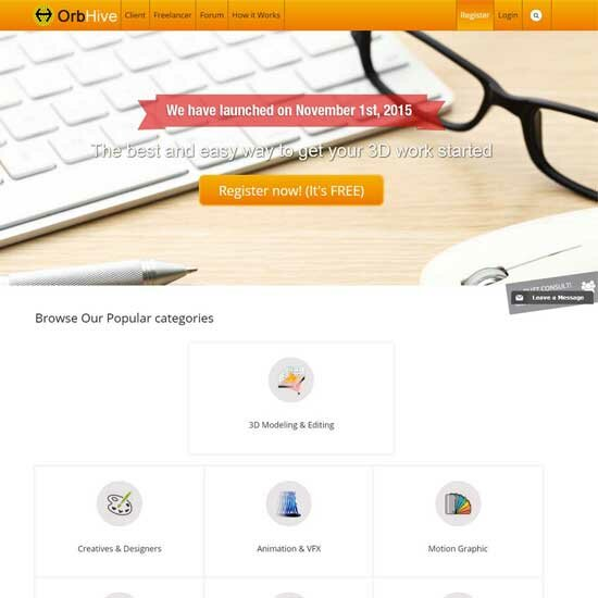 Freelancer Marketplace theme-9