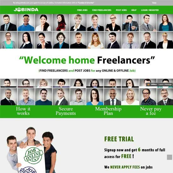 Freelancer Marketplace theme-7